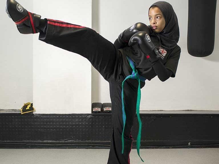 Mwy o wybodaeth: Q&A: The Representation of Muslim Women in Photography